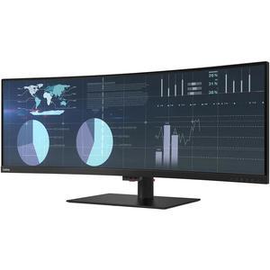 Lenovo 43.4-inch Monitor 3840 x 2160 LCD (ThinkVision P44w-10)