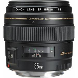 Lens Canon EF 85mm f/1.8 USM - Black