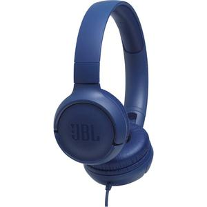 JBL - TUNE 500 Wired On-Ear Headphones - Blue