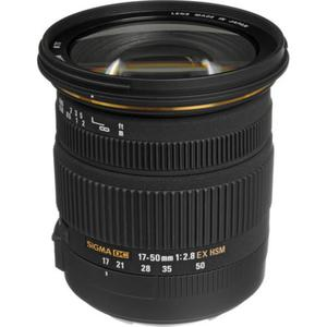 Lens Sigma 17-50mm f/2.8 EX DC OS HSM Zoom for Canon - Black