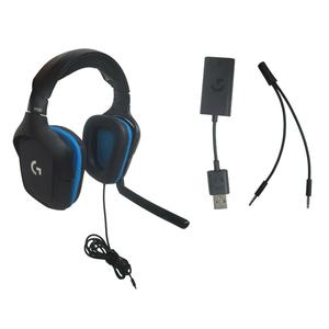 Logitech G432 Noise cancelling Gaming Headphone with microphone - Blue/Black