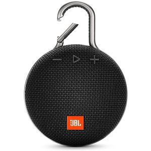 JBL Clip 3 Bluetooth Speakers - Black