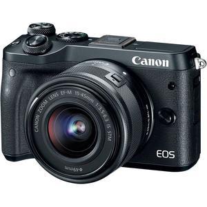 Hybrid Canon EOS M6 Black + Lens Canon EF-M 15-45mm f/3.5-6.3 IS STM