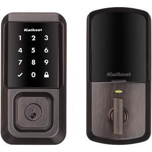 Kwikset 99390-001 Halo Wi-Fi Smart Lock Touch - Venetian Bronze