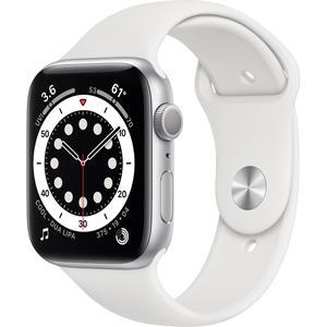 Apple Watch (Series 3) September 2017 42 mm - Aluminium Silver - Sport Band White