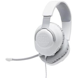 Jbl QUANTUM 100 WAM-Z Noise reducer Gaming Headphone with microphone - White