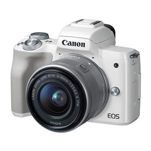 Hybdrid Canon EOS M50 - White + Lens Canon 15-45mm f/3.5-6.3
