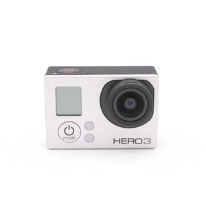 Sport Camera GoPro Hero 3 - Silver + 40PCS Accessory + Waterproof Case + Adhesive Mount + 8G SD Card + USB Charger + Battery