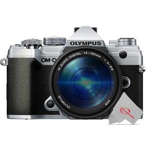 Hybrid Olympus OM-D E-M5 Mark III - Black/Silver + Lens Olympus M.Zuiko Digital ED 14‑150mm f/4-5.6 II - Black