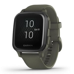 Watch GPS + Heart rate Garmin Venu Sq Music Edition - Green