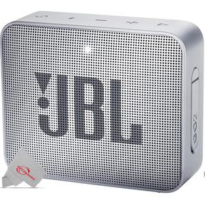 JBL - Go 2 Portable Bluetooth Speaker - Gray