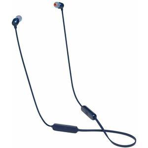 JBL Tune 115BT Earbud Bluetooth Earphones - Blue