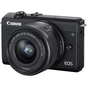 Hybrid Canon EOS M200 - Black + Lens Canon EF-M 15-45mm f/3.5-6.3 IS STM - Black