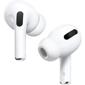 AirPods Pro Noise-Cancelling Bluetooth Earphones - White