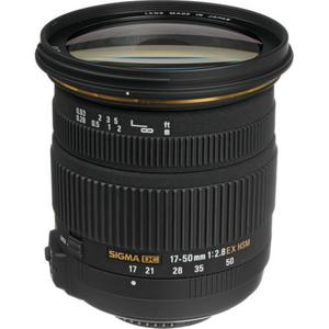 Lens Sigma 17-50mm f/2.8 EX DC OS HSM Zoom for Nikon - Black