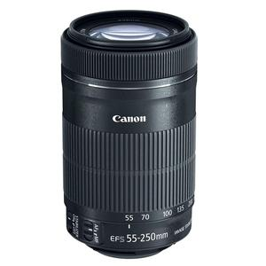 Lens Canon EF-S 55-250 mm f/4-5.6 IS STM - Black