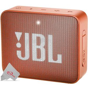 JBL - Go 2 Portable Bluetooth Speaker - Orange