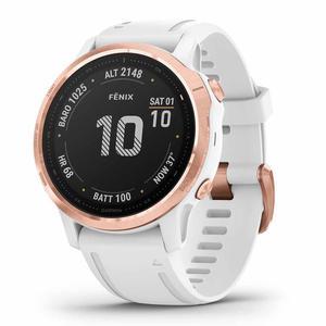 Garmin Smart Watch Fenix 6S Pro HR GPS - White