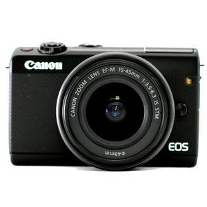 Hybrid Canon EOS M100 Black + Lens Canon EF-M 15-45mm f/3.5-6.3 IS STM