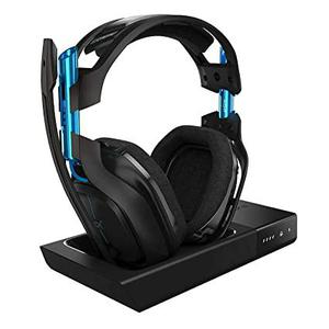 A50 Noise reducer Gaming Headphone Bluetooth with microphone - Black/Blue