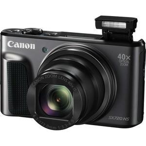 Compact Canon PowerShot SX720 HS - Black + Lens Canon 24–960mm f/3.3–6.9