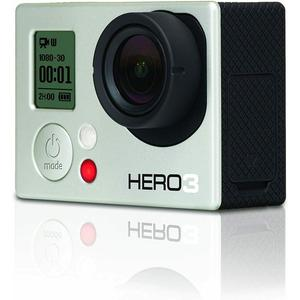Sport Camera GoPro Hero 3 - White + 40PCS Accessory + Remote Control + Waterproof Case + Adhesive Mount + 8G SD Card + Battery + USB Charger