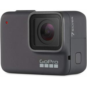 Sport camera - GoPro HERO 7 Silver Edition - Gray + Camera + 40PCS Accessory Bundle + Remote Control + Waterproof Case + 8G SD Card + USB Charger