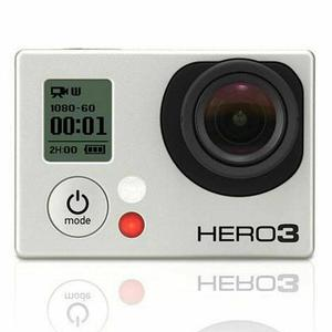 Sport Camera GoPro Hero 3 - Black + 40PCS Accessory + Waterproof Case + Adhesive Mount + 8G SD Card + USB Charger + Battery