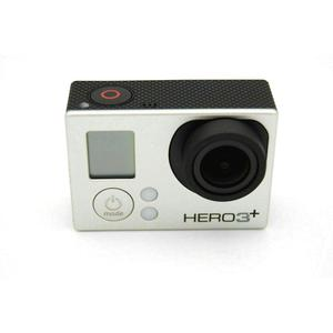 Sport Camera GoPro Hero 3+ - Silver + 40PCS Accessory + Waterproof Case + Remote Control + 8G SD Card + Adhesive Mount + USB Charger + Battery