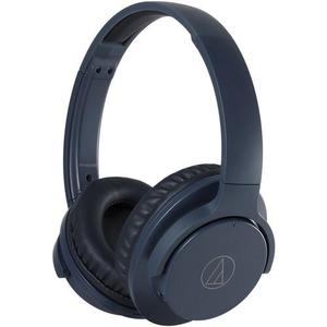 Audio-Technica ATH-ANC500BT Noise reducer Headphone Bluetooth with microphone - Navy