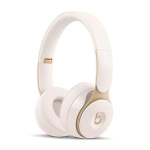 Headphones Bluetooth Microphone Noise Reducer Beats by Dr. Dre Solo Pro Wireless - Ivory