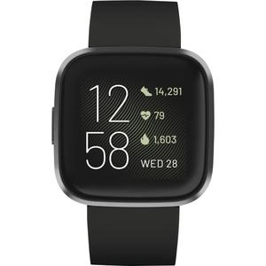 Fitbit Smart Watch Versa 2 HR GPS - Black