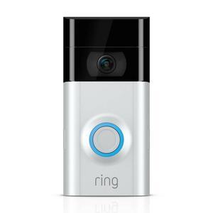 Ring - Video Doorbell (2nd Gen) - Satin Nickel