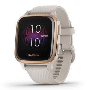 Garmin Smart Watch Venu Sq Music Edition HR GPS - Rose Gold