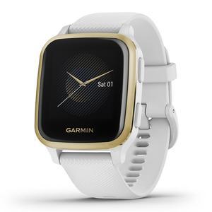Watch Cardio GPS Garmin Venu Sq - White