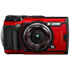 Compact - Olympus Tough TG-6 - Red