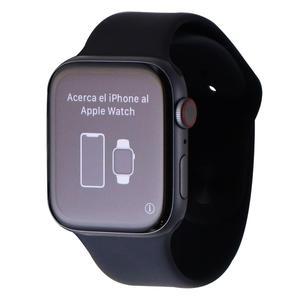 Apple Watch (Series 4) September 2017 44 mm - Aluminum Space Gray - Sport Band Black
