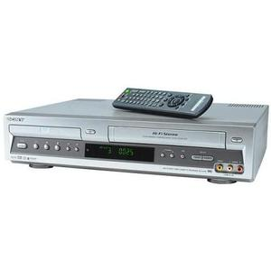 DVD Player - Sony SLV-D100 - Silver