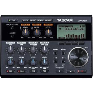 Audio Recorder Tascam DP-006 - Black