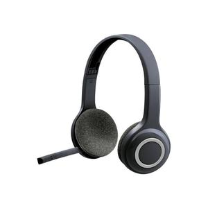 H600 Noice reducer Gaming Headphone with microphone - Black