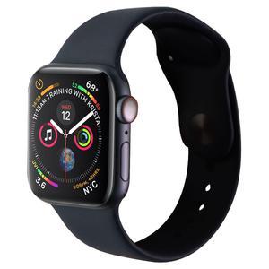 Apple Watch (Series 4) September 2018 40 mm - Aluminum Space Gray - Sport Band Black