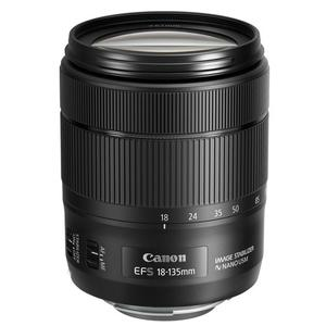 Lens Canon EF-S 18-135 mm f/3.5-5.6 IS USM - Black