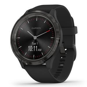 Sport Watch Cardio GPS Garmin Vivomove 3 Hybrid - Black