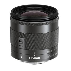 Lens Canon IS STM EF-M 11-22mm f/4-5.6 - Black